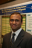 "San Francisco, CA - Breast Cancer Symposium 2011 - The Continuum of Breast Care: Science to Survivorship - S. Talluri with his poster #C3 from Poster Session 1: ""Male Breast Carcinoma's in the US."" at the Breast Cancer Symposium here today, Thursday September 8, 2011 at the San Francisco Marriott. Over 1100 attendees received updates on the latest research in breast cancer detection, care, prevention and treatment from physicians, clinicians and researchers from around the world.  Date: Thursday September 8, 2011 Photo by © ASCO/Todd Buchanan 2011 Technical Questions: todd@toddbuchanan.com; Phone: 612-226-5154."