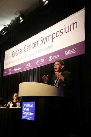 San Francisco, CA - Breast Cancer Symposium 2011 - The Continuum of Breast Care: Science to Survivorship - Stephen Feig, MD addresses the General Session II: Detection and Imaging at the Breast Cancer Symposium here today, Thursday September 8, 2011 at the San Francisco Marriott. Over 1100 attendees received updates on the latest research in breast cancer detection, care, prevention and treatment from physicians, clinicians and researchers from around the world.  Date: Thursday September 8, 2011 Photo by © ASCO/Todd Buchanan 2011 Technical Questions: todd@toddbuchanan.com; Phone: 612-226-5154.