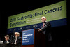 San Francisco, CA - 2011 Gastrointestinal Cancers Symposium - Dr. F. Lordick addresses General Session III at the 2011 Gastrointestinal Cancers Symposium (GI) meeting at the Moscone Center West here today, Thursday January 20, 2011. Photo by © Todd Buchanan 2011 Technical Questions: todd@toddbuchanan.com; Phone: 612-226-5154.