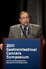 San Francisco, CA - 2011 Gastrointestinal Cancers Symposium - Dr. Richard L Schilsky addresses the Translational Research Session at the 2011 Gastrointestinal Cancers Symposium (GI) meeting at the Moscone Center West here today, Friday January 21, 2011. Photo by © Todd Buchanan 2011 Technical Questions: todd@toddbuchanan.com; Phone: 612-226-5154.