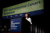 San Francisco, CA - 2011 Gastrointestinal Cancers Symposium -Dr. Cathy Eng addresses the 2011 Gastrointestinal Cancers Symposium (GI) meeting at the Moscone Center West here today, Saturday January 22, 2011. Photo by © Todd Buchanan 2011 Technical Questions: todd@toddbuchanan.com; Phone: 612-226-5154.