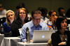 Chicago, IL - ASCO 2011 Annual Meeting: - Attendees during the Grant Writing Workshop at the American Society for Clinical Oncology (ASCO) Annual Meeting here today, Friday June 1, 2012.  Over 31,000 physicians, researchers and healthcare professionals from over 100 countries are attending the meeting which is being held at the McCormick Convention center and features the latest cancer research in the areas of basic and clinical science. Photo by © ASCO/Phil McCarten 2012 Technical Questions: todd@toddbuchanan.com; ASCO Contact: photos@asco.org