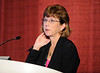 Chicago, IL - ASCO 2011 Annual Meeting: - Susan Bleney , M.D., during the Grant Writing Workshop at the American Society for Clinical Oncology (ASCO) Annual Meeting here today, Friday June 1, 2012.  Over 31,000 physicians, researchers and healthcare professionals from over 100 countries are attending the meeting which is being held at the McCormick Convention center and features the latest cancer research in the areas of basic and clinical science. Photo by © ASCO/Phil McCarten 2012 Technical Questions: todd@toddbuchanan.com; ASCO Contact: photos@asco.org