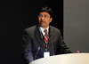 Chicago, IL - ASCO 2011 Annual Meeting: - Sriram Yennurajalingam, MD,   speaks during the Oral: Patient and Survivor Care at the American Society for Clinical Oncology (ASCO) Annual Meeting here today, Monday June 4, 2012.  Over 25,000 physicians, researchers and healthcare professionals from over 100 countries are attending the meeting which is being held at the McCormick Convention center and features the latest cancer research in the areas of basic and clinical science. Photo by © ASCO/Phil McCarten 2012 Technical Questions: todd@toddbuchanan.com; ASCO Contact: photos@asco.org