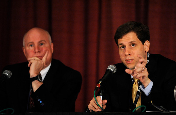 Chicago, IL - ASCO 2011 Annual Meeting: - Michael Heinrich, MD and William Tap, MD,   speaks during the Ed Session: What the Busy Oncologist Needs to Know About Gastrointestinal Stromal Tumor (Core) at the American Society for Clinical Oncology (ASCO) Annual Meeting here today, Monday June 4, 2012.  Over 25,000 physicians, researchers and healthcare professionals from over 100 countries are attending the meeting which is being held at the McCormick Convention center and features the latest cancer research in the areas of basic and clinical science. Photo by © ASCO/Phil McCarten 2012 Technical Questions: todd@toddbuchanan.com; ASCO Contact: photos@asco.org