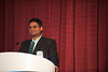 Chicago, IL - ASCO 2011 Annual Meeting: - Chair Person Manish Shah speaks during the Global Perspective of Locally Advanced Gastric Cancer: Different Treatment Paradigms and Their Rationale at the American Society for Clinical Oncology (ASCO) Annual Meeting here today, Tuesday June 5, 2012.  Over 31,000 physicians, researchers and healthcare professionals from over 100 countries are attending the meeting which is being held at the McCormick Convention center and features the latest cancer research in the areas of basic and clinical science. Photo by © ASCO/Brian Powers 2012 Technical Questions: todd@toddbuchanan.com; ASCO Contact: photos@asco.org