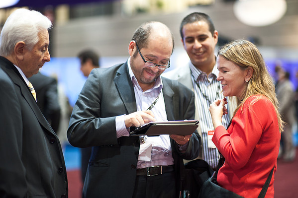 Chicago, IL - ASCO 2011 Annual Meeting: General Views at the American Society for Clinical Oncology (ASCO) Annual Meeting here today, Sunday June 3, 2012.  Over 31,000 physicians, researchers and healthcare professionals from over 100 countries are attending the meeting which is being held at the McCormick Convention center and features the latest cancer research in the areas of basic and clinical science. Photo by © ASCO/Brian Powers 2012 Technical Questions: todd@toddbuchanan.com; ASCO Contact: photos@asco.org