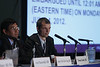 Chicago, IL - ASCO 2012 Annual Meeting: - Press Conference: Highlighted Research of the Day: Patient Centered Care  at the American Society for Clinical Oncology (ASCO) Annual Meeting here today, Sunday June 3, 2012.  Over 25,000 physicians, researchers and healthcare professionals from over 100 countries are attending the meeting which is being held at the McCormick Convention center and features the latest cancer research in the areas of basic and clinical science. Photo by © ASCO/Todd Buchanan 2012 Technical Questions: todd@toddbuchanan.com; ASCO Contact: photos@asco.org