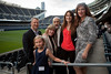 Chicago, IL - ASCO 2012 Annual Meeting: -  ASCO President Michael Link and his family at the President's Reception at Soldier Field during the American Society for Clinical Oncology (ASCO) Annual Meeting here today, Monday June 4, 2012.  Over 31,000 physicians, researchers and healthcare professionals from over 100 countries are attending the meeting which is being held at the McCormick Convention center and features the latest cancer research in the areas of basic and clinical science. Photo by © ASCO/Scott Morgan 2012 Technical Questions: todd@toddbuchanan.com; ASCO Contact: photos@asco.org
