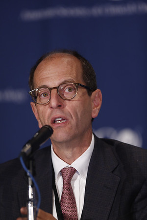 Chicago, IL - ASCO 2012 Annual Meeting: - George D. Demetri, MD<br /> Dana Farber Cancer Institute Boston, MA discusses research during the Press Conference: Highlighted Research of the Day: Patient Centered Care at the American Society for Clinical Oncology (ASCO) Annual Meeting here today, Sunday June 3, 2012.  Over 25,000 physicians, researchers and healthcare professionals from over 100 countries are attending the meeting which is being held at the McCormick Convention center and features the latest cancer research in the areas of basic and clinical science. Photo by © ASCO/Todd Buchanan 2012 Technical Questions: todd@toddbuchanan.com; ASCO Contact: photos@asco.org