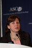 Chicago, IL - ASCO 2012 Annual Meeting: -  Sylvia Adams, MD, Assistant Professor in the Department of Medicine at New York University Langone Medical Center discusses research during the Press Conference: Highlighted Research of the Day: Patient Centered Care at the American Society for Clinical Oncology (ASCO) Annual Meeting here today, Sunday June 3, 2012.  Over 25,000 physicians, researchers and healthcare professionals from over 100 countries are attending the meeting which is being held at the McCormick Convention center and features the latest cancer research in the areas of basic and clinical science. Photo by © ASCO/Todd Buchanan 2012 Technical Questions: todd@toddbuchanan.com; ASCO Contact: photos@asco.org