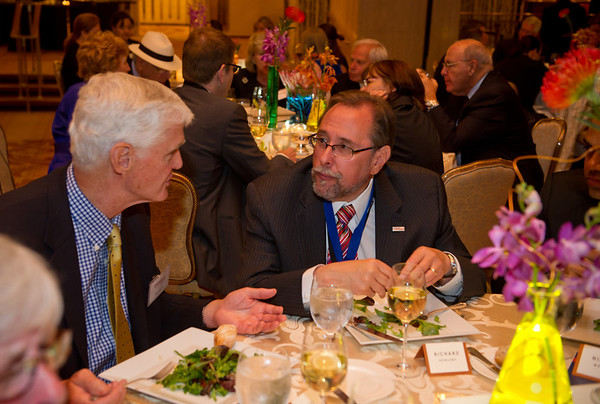 Chicago, IL - ASCO 2011 Annual Meeting: - The First Annual Conquer Cancer Foundation Dinner at the American Society for Clinical Oncology (ASCO) Annual Meeting here today, Sunday June 3, 2012.  Over 31,000 physicians, researchers and healthcare professionals from over 100 countries are attending the meeting which is being held at the McCormick Convention center and features the latest cancer research in the areas of basic and clinical science. Photo by © ASCO/ach Boyden-Holmes 2012 Technical Questions: todd@toddbuchanan.com; ASCO Contact: photos@asco.org