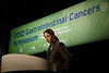 San Francisco, CA - ASCO GI 2012: Dr. Jennifer LaFemina presents Abstract #152 at General Session II: Cancers of the Pancreas, Small Bowel and Hepatobiliary Tract: Translational Research at the 2012 American Society of Clinical Oncology (ASCO) Gastrointestinal Cancers Symposium here today, Friday January 20, 2012. Over 3,000 Physicians, researchers, healthcare professionals, advocates and survivors from across the United States and over seas attended the meeting which features the latest research on Gastrointestinal cancer treatment and prevention. Date: Friday January 20, 2012 Photo by © ASCO/Todd Buchanan 2012 Technical Questions: todd@toddbuchanan.com; Phone: 612-226-5154.