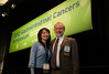 San Francisco, CA - ASCO GI 2012: Attendees at the 2012 American Society of Clinical Oncology (ASCO) Gastrointestinal Cancers Symposium here today, Thursday January 19, 2012. Over 3,000 Physicians, researchers, healthcare professionals, advocates and survivors from across the United States and over seas attended the meeting which features the latest research on Gastrointestinal cancer treatment and prevention. Date: Thursday January 19, 2012 Photo by © ASCO/Todd Buchanan 2012 Technical Questions: todd@toddbuchanan.com; Phone: 612-226-5154.