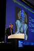 San Francisco, CA - 2011 Genitourinary Cancers Symposium - Jonathan J. Paly discusses his Abstract #324 Mapping patterns of nodal metastases in seminoma: Rethinking radiotherapy fields during the Oral Abstract Session B: Penile, Urethral, Urothelial and Testicular Cancers session at the 2011 Genitourinary Cancers Symposium (GI) meeting at the Marriott Marquis here today, Friday February 3, 2012.  A record 2500 attendees from around the world were on hand to learn the latest treatment and research in Genitourinary cancers from fellow physicians, researchers, health care professionals, cancer survivors and patient advocates. Photo by © ASCO/Todd Buchanan 2012 Technical Questions: todd@toddbuchanan.com; Phone: 612-226-5154.