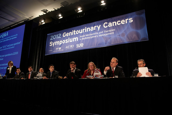 San Francisco, CA - 2011 Genitourinary Cancers Symposium - General views at the 2011 Genitourinary Cancers Symposium (GI) meeting at the Marriott Marquis here today, Friday February 3, 2012.  A record 2500 attendees from around the world were on hand to learn the latest treatment and research in Genitourinary cancers from fellow physicians, researchers, health care professionals, cancer survivors and patient advocates. Photo by © ASCO/Todd Buchanan 2012 Technical Questions: todd@toddbuchanan.com; Phone: 612-226-5154.