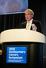 San Francisco, CA - 2011 Genitourinary Cancers Symposium - Philip W. Kantoff, MD addresses the General Session II: Castration-Resistant Prostate Cancer -- Treatment Sequencing and Implementation at the 2011 Genitourinary Cancers Symposium (GI) meeting at the Marriott Marquis here today, Friday February 3, 2012.  A record 2500 attendees from around the world were on hand to learn the latest treatment and research in Genitourinary cancers from fellow physicians, researchers, health care professionals, cancer survivors and patient advocates. Photo by © ASCO/Todd Buchanan 2012 Technical Questions: todd@toddbuchanan.com; Phone: 612-226-5154.
