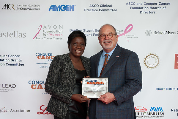 Chicago, IL - ASCO 2013 Annual Meeting: - Award winners pose with Dr. W. Charles Penley before the 2013 Grants and Awards Ceremony and Reception at the American Society for Clinical Oncology (ASCO) Annual Meeting here today, Sunday June 2, 2013.  Over 30,000 physicians, researchers and healthcare professionals from over 100 countries are attending the meeting which is being held at the McCormick Convention center and features the latest cancer research in the areas of basic and clinical science. Photo by © ASCO/Brian Powers 2013 Technical Questions: todd@toddbuchanan.com; ASCO Contact: photos@asco.org
