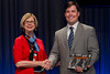 Chicago, IL - ASCO 2013 Annual Meeting: - Dr. Sandra Swain with Dr. Luke Nordquist from the Urology Cancer Center during the Clinical Trials Participation Awards at the American Society for Clinical Oncology (ASCO) Annual Meeting here today, Sunday June 2, 2013.  Over 30,000 physicians, researchers and healthcare professionals from over 100 countries are attending the meeting which is being held at the McCormick Convention center and features the latest cancer research in the areas of basic and clinical science. Photo by © ASCO/Brian Powers 2013 Technical Questions: todd@toddbuchanan.com; ASCO Contact: photos@asco.org