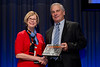 Chicago, IL - ASCO 2013 Annual Meeting: - Dr. Sandra Swain with Dr. William Tester from the Albert Einstein Cancer Care center during the Clinical Trials Participation Awards at the American Society for Clinical Oncology (ASCO) Annual Meeting here today, Sunday June 2, 2013.  Over 30,000 physicians, researchers and healthcare professionals from over 100 countries are attending the meeting which is being held at the McCormick Convention center and features the latest cancer research in the areas of basic and clinical science. Photo by © ASCO/Brian Powers 2013 Technical Questions: todd@toddbuchanan.com; ASCO Contact: photos@asco.org