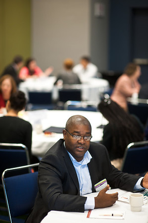 Chicago, IL - ASCO 2013 Annual Meeting: - Alex Adjei, MD, PhD, FACP during DOI Meeting and Greet at the American Society for Clinical Oncology (ASCO) Annual Meeting here today, Saturday June 1, 2013.  Over 30,000 physicians, researchers and healthcare professionals from over 100 countries are attending the meeting which is being held at the McCormick Convention center and features the latest cancer research in the areas of basic and clinical science. Photo by © ASCO/Brian Powers 2013 Technical Questions: todd@toddbuchanan.com; ASCO Contact: photos@asco.org