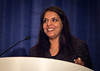 Chicago, IL - ASCO 2013 Annual Meeting: - Arti Hurria, MD during B. J. Kennedy Award and Lecture for Scientific Excellence in Geriatric Oncology at the American Society of Clinical Oncology (ASCO) Annual Meeting here today, Monday June 3, 2013.  Over 30,000 physicians, researchers and healthcare professionals from over 100 countries are attending the meeting which is being held at the McCormick Convention center and features the latest cancer research in the areas of basic and clinical science. Photo by © ASCO/Rodney White 2013 Technical Questions: todd@toddbuchanan.com; ASCO Contact: photos@asco.org