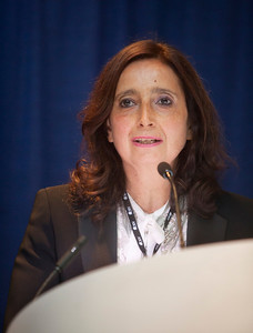 "Chicago, IL - ASCO 2013 Annual Meeting: - Antonella Surbone during ""What Is Professionalism in the Era of Personalized Global Cancer Care? Bridging What We Say, Teach, and Do"" at the American Society for Clinical Oncology (ASCO) Annual Meeting here today, Saturday June 1, 2013.  Over 30,000 physicians, researchers and healthcare professionals from over 100 countries are attending the meeting which is being held at the McCormick Convention center and features the latest cancer research in the areas of basic and clinical science. Photo by © ASCO/Todd Buchanan 2013 Technical Questions: todd@toddbuchanan.com; ASCO Contact: photos@asco.org"