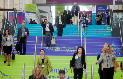 Chicago, IL - ASCO 2013 Annual Meeting: -  during General views at the American Society for Clinical Oncology (ASCO) Annual Meeting here today, Saturday June 1, 2013.  Over 30,000 physicians, researchers and healthcare professionals from over 100 countries are attending the meeting which is being held at the McCormick Convention center and features the latest cancer research in the areas of basic and clinical science. Photo by © ASCO/Todd Buchanan 2013 Technical Questions: todd@toddbuchanan.com; ASCO Contact: photos@asco.org