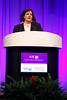 Chicago, IL - ASCO 2013 Annual Meeting: - Dr. Marcia S. Brose during PLENARY at the American Society for Clinical Oncology (ASCO) Annual Meeting here today, Sunday June 2, 2013.  Over 30,000 physicians, researchers and healthcare professionals from over 100 countries are attending the meeting which is being held at the McCormick Convention center and features the latest cancer research in the areas of basic and clinical science. Photo by © ASCO/Rodney White 2013 Technical Questions: todd@toddbuchanan.com; ASCO Contact: photos@asco.org