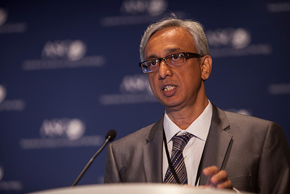 "Chicago, IL - ASCO 2013 Annual Meeting: - Dr. Surendra Srinivas Shastri  at the American Society for Clinical Oncology (ASCO) Annual Meeting here today, Sunday June 2, 2013.  Over 30,000 physicians, researchers and healthcare professionals from over 100 countries are attending the meeting which is being held at the McCormick Convention center and features the latest cancer research in the areas of basic and clinical science. Photo by © ASCO/Silas Crews 2013 Technical Questions: todd@toddbuchanan.com; ASCO Contact: photos@asco.orgChicago, IL - ASCO 2013 Annual Meeting: - Dr. Surendra Srinivas Shastri during ""PRESS CONFERENCE: Highlighted Research of the Day at the American Society for Clinical Oncology (ASCO) Annual Meeting here today, Sunday June 2, 2013.  Over 30,000 physicians, researchers and healthcare professionals from over 100 countries are attending the meeting which is being held at the McCormick Convention center and features the latest cancer research in the areas of basic and clinical science. Photo by © ASCO/Silas Crews 2013 Technical Questions: todd@toddbuchanan.com; ASCO Contact: photos@asco.orgChicago, IL - ASCO 2013 Annual Meeting: - Dr. Surendra Srinivas Shastri during ""PRESS CONFERENCE: Highlighted Research of the Day at the American Society for Clinical Oncology (ASCO) Annual Meeting here today, Sunday June 2, 2013.  Over 30,000 physicians, researchers and healthcare professionals from over 100 countries are attending the meeting which is being held at the McCormick Convention center and features the latest cancer research in the areas of basic and clinical science. Photo by © ASCO/Silas Crews 2013 Technical Questions: todd@toddbuchanan.com; ASCO Contact: photos@asco.org"