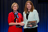 Chicago, IL - ASCO 2013 Annual Meeting: - Dr. Sandra Swain with Ms. Jennifer Anderson from Illinois Cancer Care, PC during the Clinical Trials Participation Awards at the American Society for Clinical Oncology (ASCO) Annual Meeting here today, Sunday June 2, 2013.  Over 30,000 physicians, researchers and healthcare professionals from over 100 countries are attending the meeting which is being held at the McCormick Convention center and features the latest cancer research in the areas of basic and clinical science. Photo by © ASCO/Brian Powers 2013 Technical Questions: todd@toddbuchanan.com; ASCO Contact: photos@asco.org
