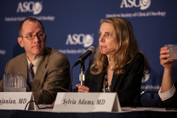"""Chicago, IL - ASCO 2013 Annual Meeting: - Dr. Carol Aghajanian  at the American Society for Clinical Oncology (ASCO) Annual Meeting here today, Sunday June 2, 2013.  Over 30,000 physicians, researchers and healthcare professionals from over 100 countries are attending the meeting which is being held at the McCormick Convention center and features the latest cancer research in the areas of basic and clinical science. Photo by © ASCO/Silas Crews 2013 Technical Questions: todd@toddbuchanan.com; ASCO Contact: photos@asco.orgChicago, IL - ASCO 2013 Annual Meeting: - Dr. Carol Aghajanian during """"PRESS CONFERENCE: Highlighted Research of the Day at the American Society for Clinical Oncology (ASCO) Annual Meeting here today, Sunday June 2, 2013.  Over 30,000 physicians, researchers and healthcare professionals from over 100 countries are attending the meeting which is being held at the McCormick Convention center and features the latest cancer research in the areas of basic and clinical science. Photo by © ASCO/Silas Crews 2013 Technical Questions: todd@toddbuchanan.com; ASCO Contact: photos@asco.orgChicago, IL - ASCO 2013 Annual Meeting: - Dr. Carol Aghajanian during """"PRESS CONFERENCE: Highlighted Research of the Day at the American Society for Clinical Oncology (ASCO) Annual Meeting here today, Sunday June 2, 2013.  Over 30,000 physicians, researchers and healthcare professionals from over 100 countries are attending the meeting which is being held at the McCormick Convention center and features the latest cancer research in the areas of basic and clinical science. Photo by © ASCO/Silas Crews 2013 Technical Questions: todd@toddbuchanan.com; ASCO Contact: photos@asco.org"""