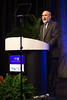 Chicago, IL - ASCO 2013 Annual Meeting: - Michael Link, MD, speaks during the Plenary Session at the American Society for Clinical Oncology (ASCO) Annual Meeting here today, Friday May 31, 2013.  Over 30,000 physicians, researchers and healthcare professionals from over 100 countries are attending the meeting which is being held at the McCormick Convention center and features the latest cancer research in the areas of basic and clinical science. Photo by © ASCO/Scott Morgan 2013 Technical Questions: todd@toddbuchanan.com; ASCO Contact: photos@asco.org