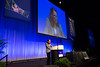 Chicago, IL - ASCO 2013 Annual Meeting: - Food and Drug Administration Commissioner Margaret A. Hamburg, MD, speaks during the Plenary Session at the American Society for Clinical Oncology (ASCO) Annual Meeting here today, Friday May 31, 2013.  Over 30,000 physicians, researchers and healthcare professionals from over 100 countries are attending the meeting which is being held at the McCormick Convention center and features the latest cancer research in the areas of basic and clinical science. Photo by © ASCO/Scott Morgan 2013 Technical Questions: todd@toddbuchanan.com; ASCO Contact: photos@asco.org