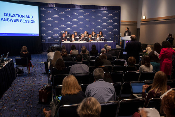 "Chicago, IL - ASCO 2013 Annual Meeting: -   at the American Society for Clinical Oncology (ASCO) Annual Meeting here today, Sunday June 2, 2013.  Over 30,000 physicians, researchers and healthcare professionals from over 100 countries are attending the meeting which is being held at the McCormick Convention center and features the latest cancer research in the areas of basic and clinical science. Photo by © ASCO/Silas Crews 2013 Technical Questions: todd@toddbuchanan.com; ASCO Contact: photos@asco.orgChicago, IL - ASCO 2013 Annual Meeting: -  during ""PRESS CONFERENCE: Highlighted Research of the Day at the American Society for Clinical Oncology (ASCO) Annual Meeting here today, Sunday June 2, 2013.  Over 30,000 physicians, researchers and healthcare professionals from over 100 countries are attending the meeting which is being held at the McCormick Convention center and features the latest cancer research in the areas of basic and clinical science. Photo by © ASCO/Silas Crews 2013 Technical Questions: todd@toddbuchanan.com; ASCO Contact: photos@asco.orgChicago, IL - ASCO 2013 Annual Meeting: -  during ""PRESS CONFERENCE: Highlighted Research of the Day at the American Society for Clinical Oncology (ASCO) Annual Meeting here today, Sunday June 2, 2013.  Over 30,000 physicians, researchers and healthcare professionals from over 100 countries are attending the meeting which is being held at the McCormick Convention center and features the latest cancer research in the areas of basic and clinical science. Photo by © ASCO/Silas Crews 2013 Technical Questions: todd@toddbuchanan.com; ASCO Contact: photos@asco.org"