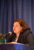 Chicago, IL - ASCO 2013 Annual Meeting: - Marcia Brose during Ex Ed: On the Shoulders of Giants: Historical Perspective on Lung Cancer Molecular Profiling and Genomics ?Where We've Been and Where We're Going at the American Society for Clinical Oncology (ASCO) Annual Meeting here today, Friday May 31, 2013.  Over 30,000 physicians, researchers and healthcare professionals from over 100 countries are attending the meeting which is being held at the McCormick Convention center and features the latest cancer research in the areas of basic and clinical science. Photo by © ASCO/Todd Buchanan 2013 Technical Questions: todd@toddbuchanan.com; ASCO Contact: photos@asco.org