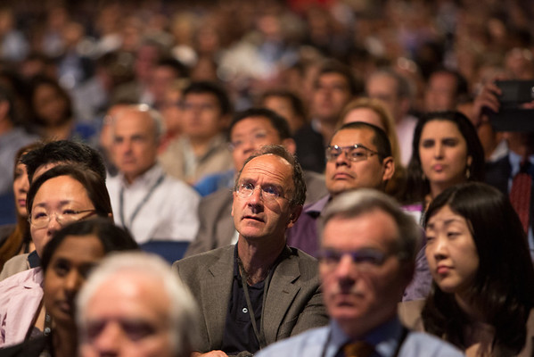 Chicago, IL - ASCO 2013 Annual Meeting: - Attendees during Ed Ses: Beyond Trastuzumab and Lapatinib: New Options for HER2-Positive Breast Cancer at the American Society for Clinical Oncology (ASCO) Annual Meeting here today, Friday May 31, 2013.  Over 30,000 physicians, researchers and healthcare professionals from over 100 countries are attending the meeting which is being held at the McCormick Convention center and features the latest cancer research in the areas of basic and clinical science. Photo by © ASCO/Scott Morgan 2013 Technical Questions: todd@toddbuchanan.com; ASCO Contact: photos@asco.org