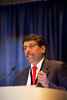 Chicago, IL - ASCO 2013 Annual Meeting: - Ramawamy Govindan during Ex Ed: On the Shoulders of Giants: Historical Perspective on Lung Cancer Molecular Profiling and Genomics ?Where We've Been and Where We're Going at the American Society for Clinical Oncology (ASCO) Annual Meeting here today, Friday May 31, 2013.  Over 30,000 physicians, researchers and healthcare professionals from over 100 countries are attending the meeting which is being held at the McCormick Convention center and features the latest cancer research in the areas of basic and clinical science. Photo by © ASCO/Todd Buchanan 2013 Technical Questions: todd@toddbuchanan.com; ASCO Contact: photos@asco.org
