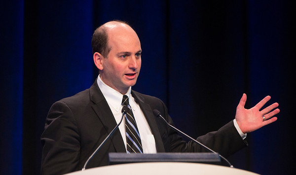 """San Francisco, CA -GU Cancers Symposium 2014: Todd Matthew Morgan, MD discusses """"Models, Nomograms, Biomarkers, and Risk: Can We Measure Heterogeneity for Clinical Benefit and Decision Making?"""" during General Session 7: Clinical and Genetic Heterogeneity in Renal Cell Carcinoma at the 2014 Genitourinary Cancers Symposium here today, Saturday February 1, 2014. Over 3,100 physicians, researchers, patient advocates and healthcare professionals from over 50 countries attended the meeting which features the latest research on genitourinary cancer treatment and prevention. Photo by © ASCO/Todd Buchanan 2014 Technical Questions: todd@medmeetingimages.com"""