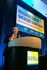 Ira Byock, MD, presents during Keynote Session
