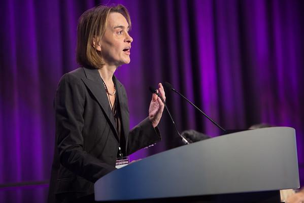 Christiane K. Kuhl, MD, speaking