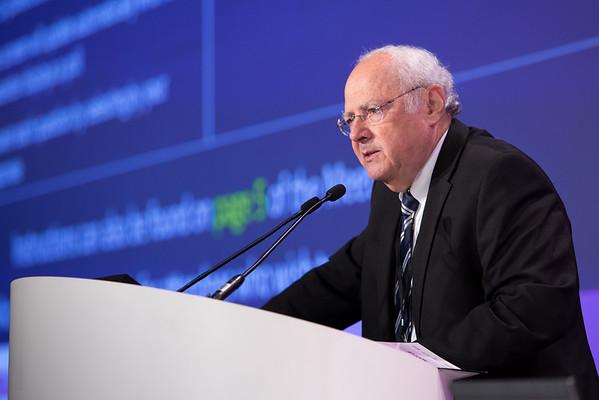 Norman Wolmark, MD, speaking