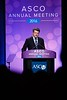 James R. Perry, MD, FRCPC, presenting abstract LBA2, A phase III randomized controlled trial of short-course radiotherapy with or without concomitant and adjuvant temozolomide in elderly patients with glioblastoma (CCTG CE.6, EORTC 26062-22061, TROG 08.02, NCT00482677). during Plenary Session including Science of Oncology Award and Lecture