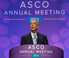 ASCO CEO Allen S. Lichter, MD, FASCO introducing ASCO President, Julie M. Vose, MD, MBA, FASCO during Opening Session