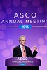 Ian E. Smith, MD, discusses LBA1  during Plenary Session including Science of Oncology Award and Lecture