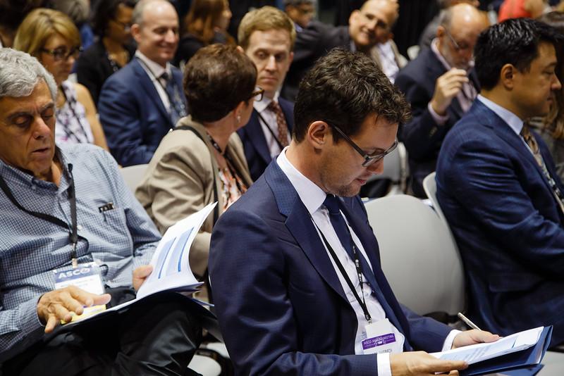 General views during Industry Expert Theater - Genentech presentation
