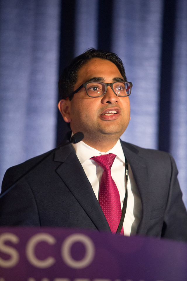 Manmeet Singh Ahluwalia speaks discusses Targeted Therapy in Brain Metastases: Ready for Prime Time? during Extended Education Session:Multidisciplinary Management of Brain Metastases during Extended Education Session