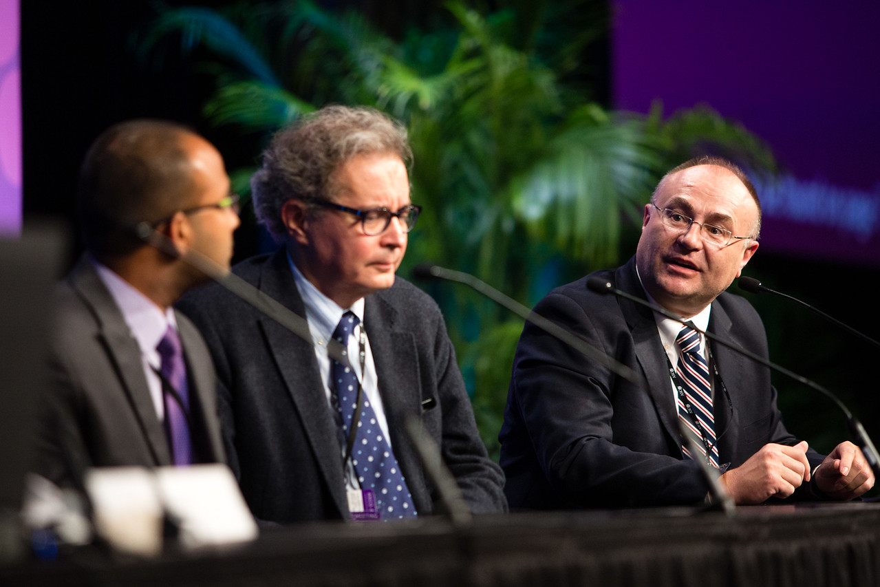 Speakers and Presenters during Gastrointestinal (Colorectal) Cancer Poster Discussion Session