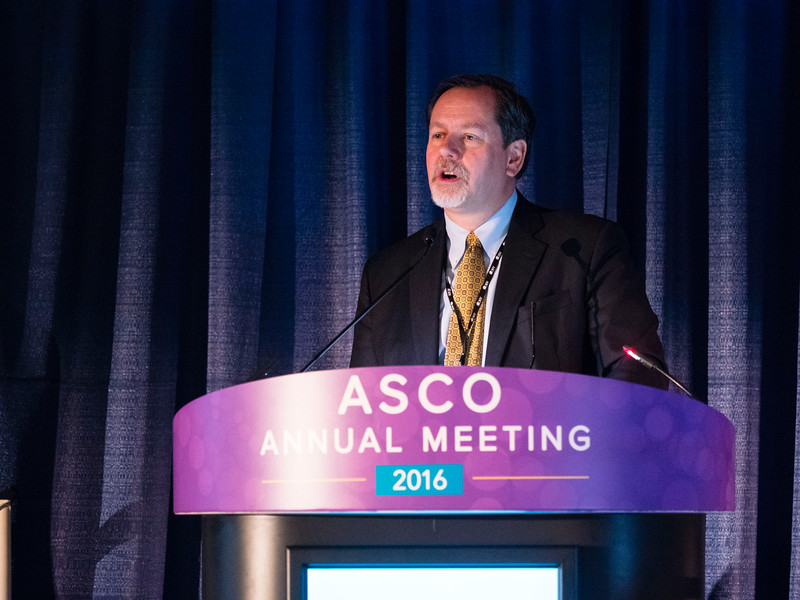 Anthony Tolcher, MD, during Pre-Annual Meeting Seminar: New Drugs in Oncology during Pre-Annual Meeting Seminar: Novel Direction of Clinical Trial Design