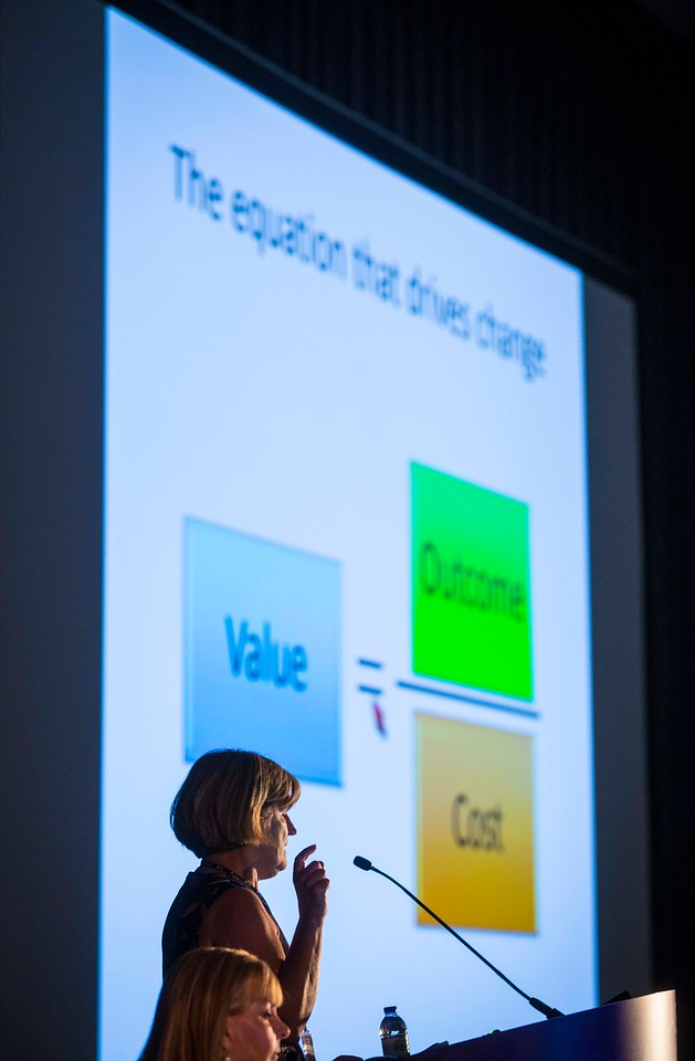 Speakers during ASCO/European CanCer Organisation (ECCO) Joint Session: Value-Based Care